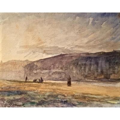 Léon GARRAUD (1877-1961) - Les bords du Rhône