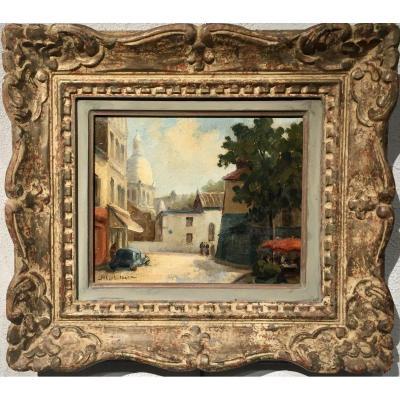 PLACE du TERTRE 1934 - Albert BERN (1898- ?)