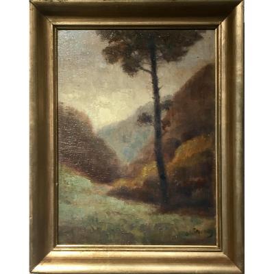 Dieudonné JACOBS (1887-1967) - PIN PARASOL