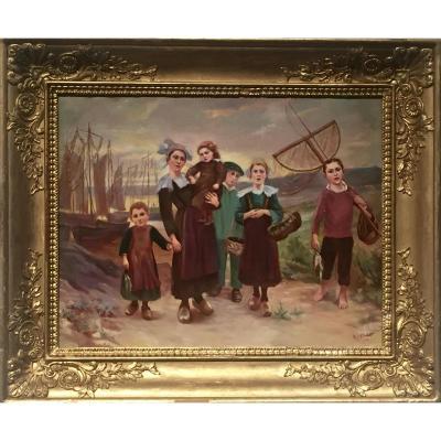 The Fisherman's Family 1912 - Ma Pointet (xix / XX)
