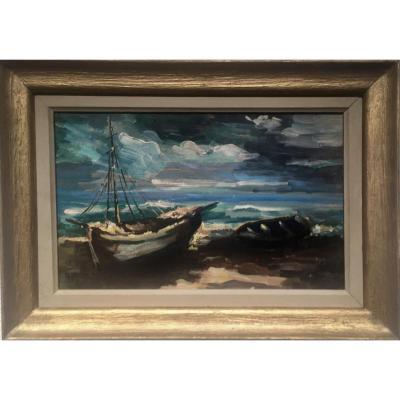 Albert Vag (1931-1983) - Failed Boats