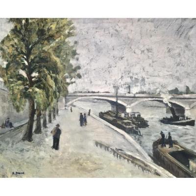PARIS - PONT D'AUSTERLITZ - Signature non lue