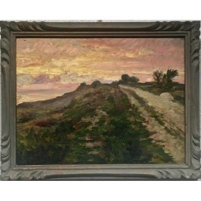 FORT de NIOLON (les environs) - Georges AUFRAY (1864-1941)
