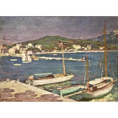 SANARY 1935 - Henri FONTAINE (1887-1956)