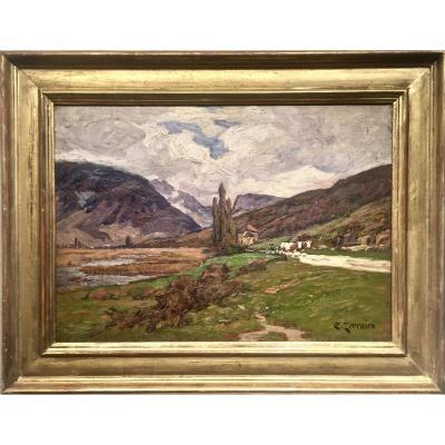 LAC d'ANNECY -  Environs - Clovis TERRAIRE (1858-1931)