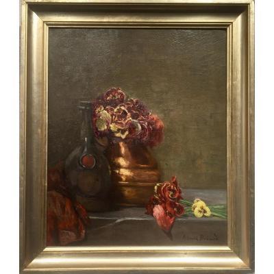 PENSEES - COMPOSITION - Henri Georges BREARD (1873-1950)