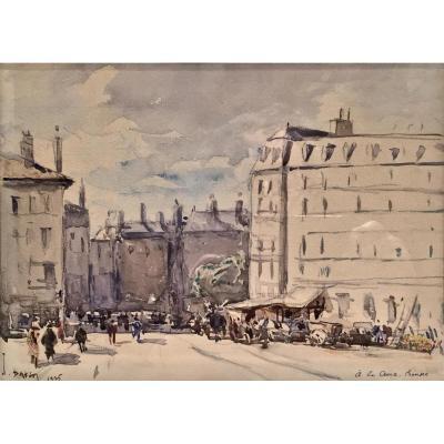 Joannès DREVET (1854-1940) - LA CROIX ROUSSE 1925