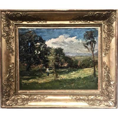 Joseph TREVOUX (1831-1909) - VIGNEUX / MORESTEL