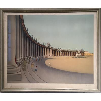 Georges ROHNER (1913-2000) - Rome 1967
