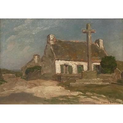 Calvaire Breton - Jean Jacques BERNE-BELLECOUR (1874-1939)