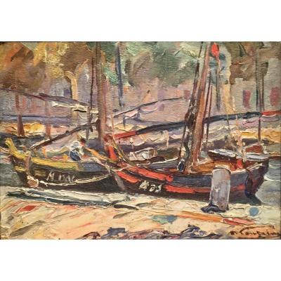 Les  MARTIGUES 1924  -  Henri FONTAINE (1887-1956)