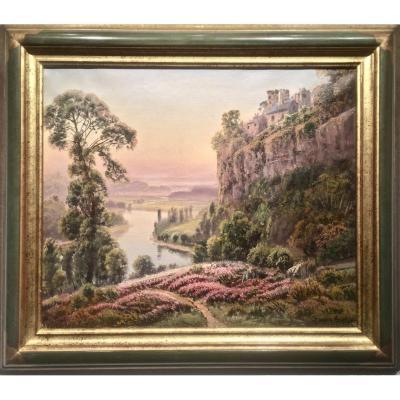 Gaston ANGLADE (1854-1919)  -  CHATEAU de BEYNAT