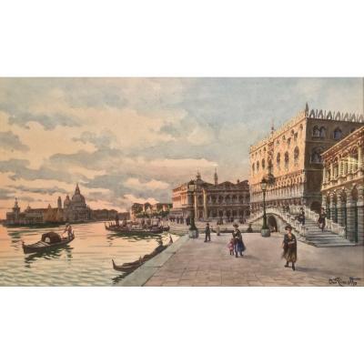Agnès MINOTTO (1862-1927)   -   Place SAINT - MARC