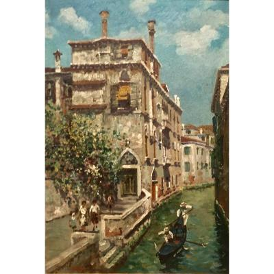 Luigi LANZA (1860-1913) - VENISE