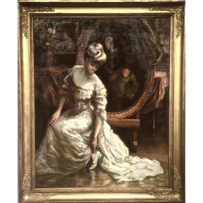 Paul Franz NAMUR (1877-1958)  -   L' ATELIER du Peintre