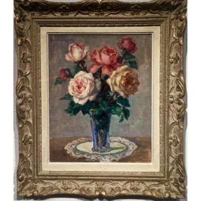Léonie HUMBERT-VIGNOT (1866-1960) - ROSES