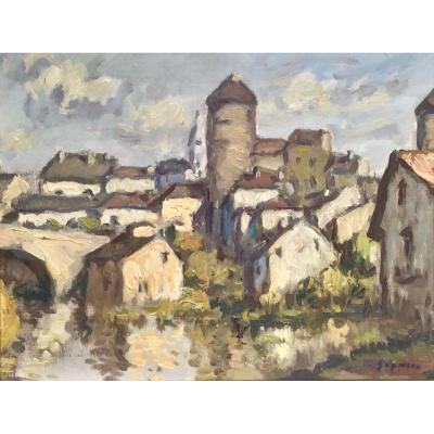 SEMUR en AUXOIS - Ludovic GIGNOUX ( 1882- ? )
