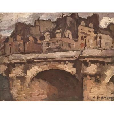 PARIS - Le PONT NEUF - Ludovic GIGNOUX (1882- ? )