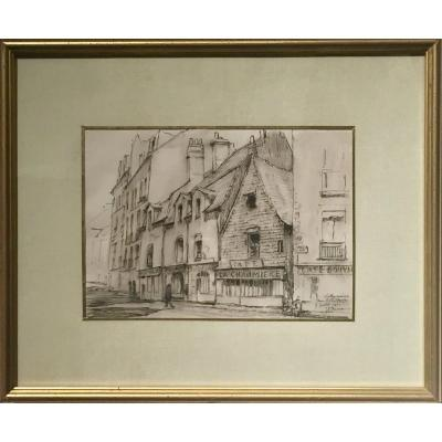 NANTES - Rue Porte Neuve - Jules PONCEAU (1881-1961)