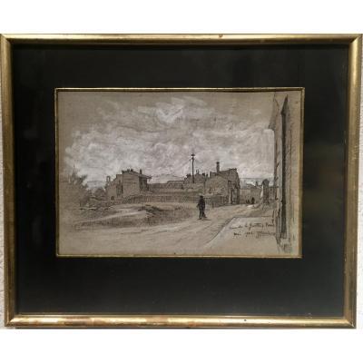 PARIS 1906 - Rue Fernand Gillot - Jules PONCEAU (1881-1961)
