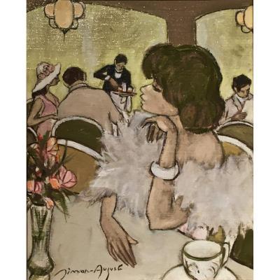 SIMON AUGUSTE ( 1909-1987) - Le Rendez-vous