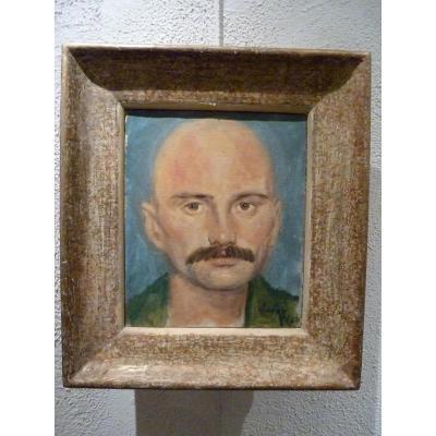 Portrait de Paul Hubay à Menton