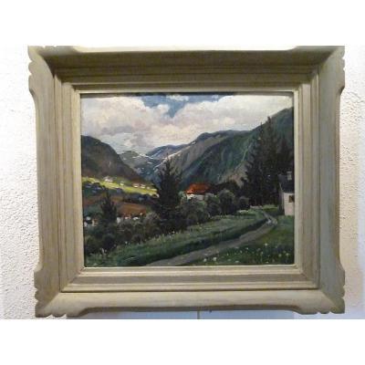 Vallée dans la montagne par Vagh Weinmann 1937