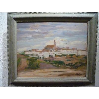 Village d'Espagne par Marguerite Portier