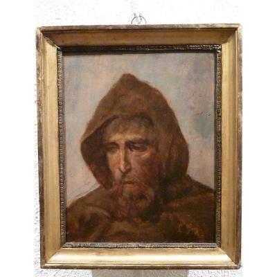 Portrait de Moine par Louis Guy
