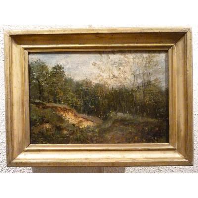Paysage du Lyonnais attribué à Maniquet