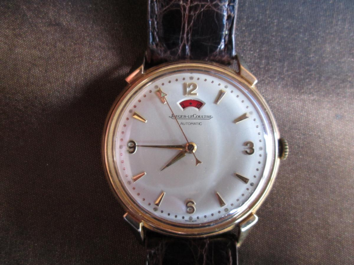 Jaeger Le Coultre Gold Watch
