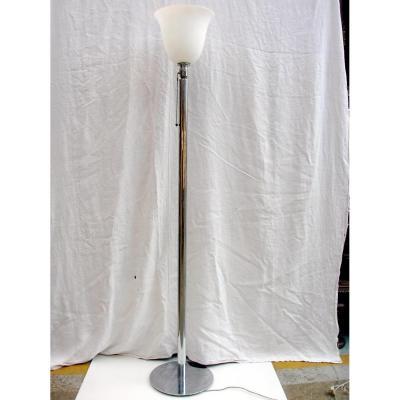 1950 Chrome Floor Lamp