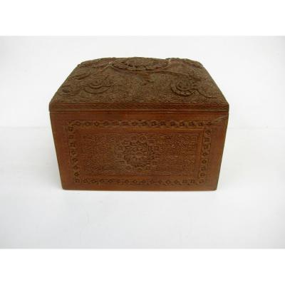 Sandalwood Cigarette Box