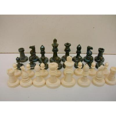 Small German Game In Ivory End Nineteenth Early Twentieth