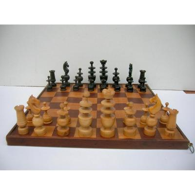 French Boxwood Chess Set