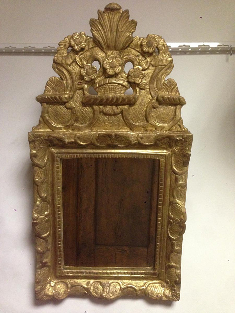 Miroir A Fronton Louis XIV