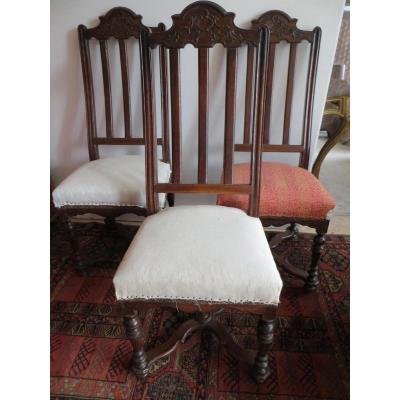 Liege 18th Century Chairs