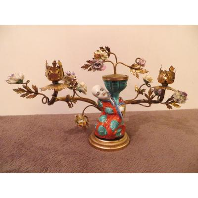 Chinese Candelabrum Late Nineteenth Time