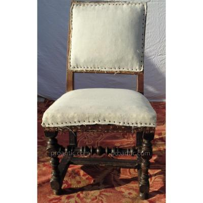 chaise ancienne tabouret ancien sur proantic haute poque renaissance louis xiii. Black Bedroom Furniture Sets. Home Design Ideas
