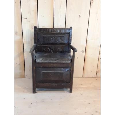 Salt Chair, 17th Century