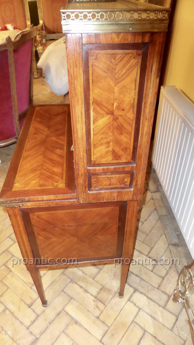 Bonheur du jour louis xvi en acajou autres meubles for Meuble bonheur du jour