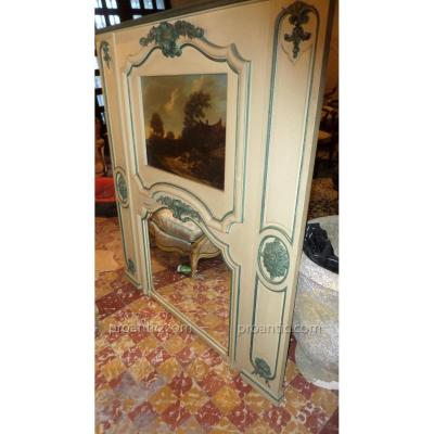 Grand Trumeau Style Louis XV