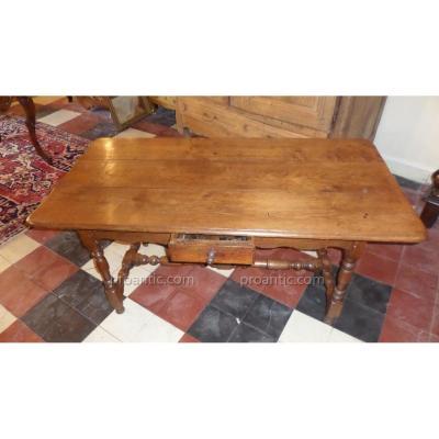 Table Louis XIII 17eme siecle