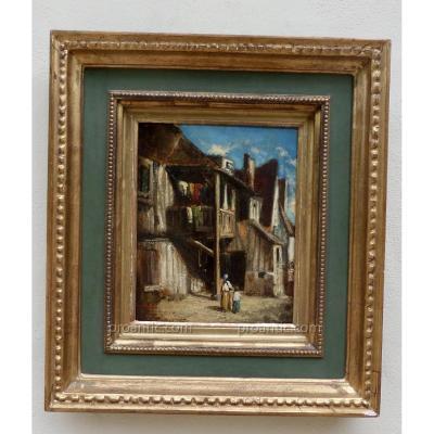 Alexandre Gabriel Decamps (1803-1860) Huile Sur Toile