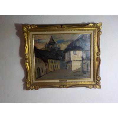Raymond Louis Charmaison (1876-1955) Village De Campan 1932