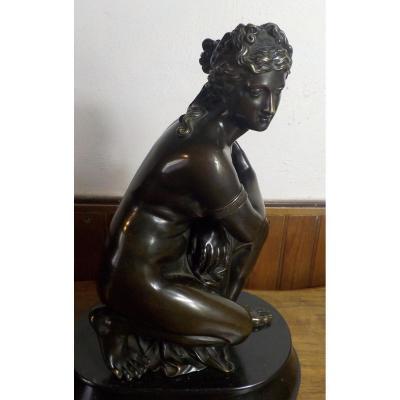 Nymph En Bronze 19eme
