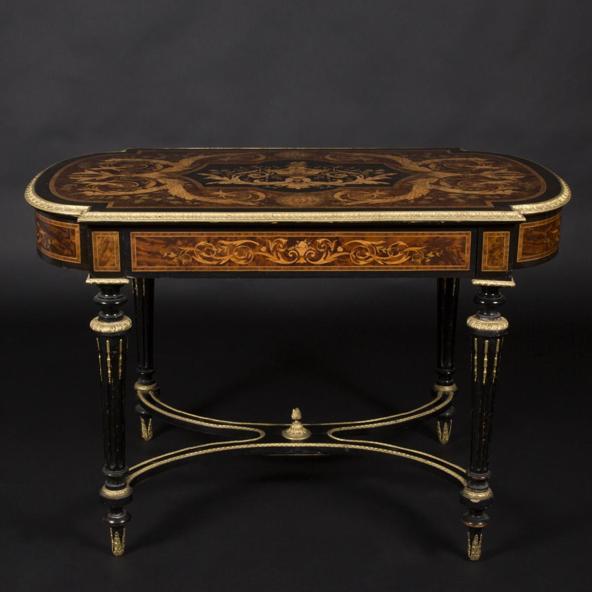 Table de milieu, XIXe