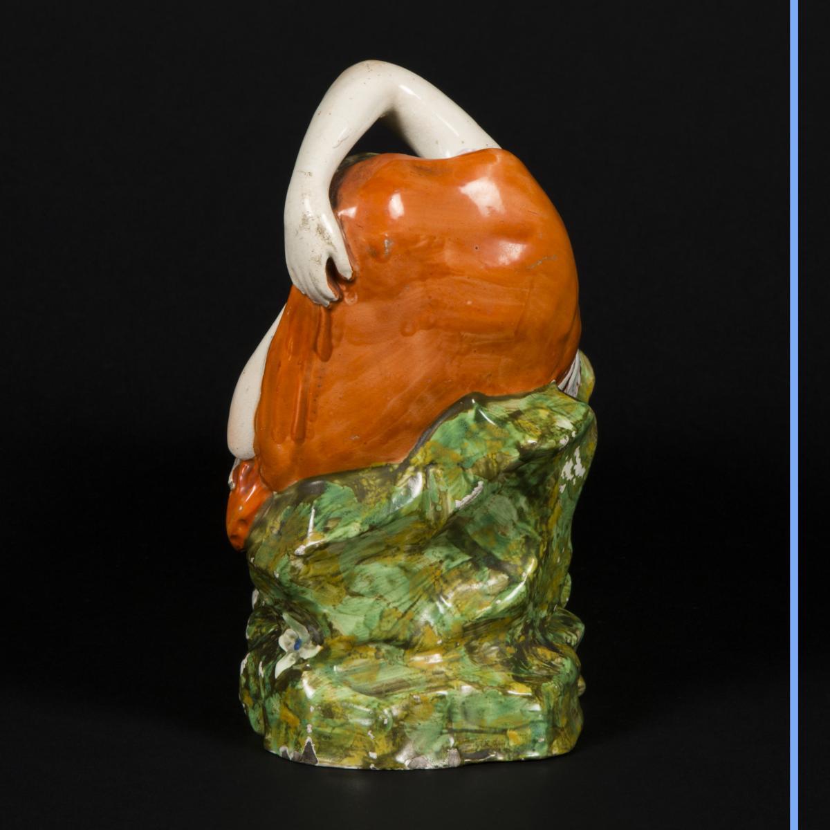 Cléopatre et Antoine, céramique, XIXe-photo-1