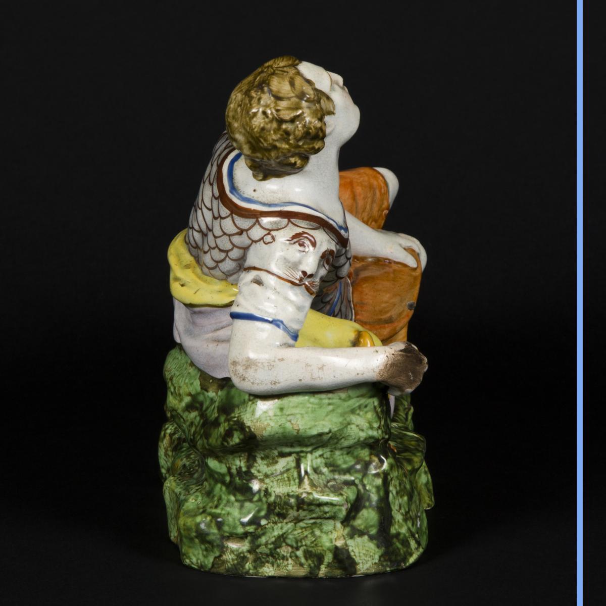 Cléopatre et Antoine, céramique, XIXe-photo-8