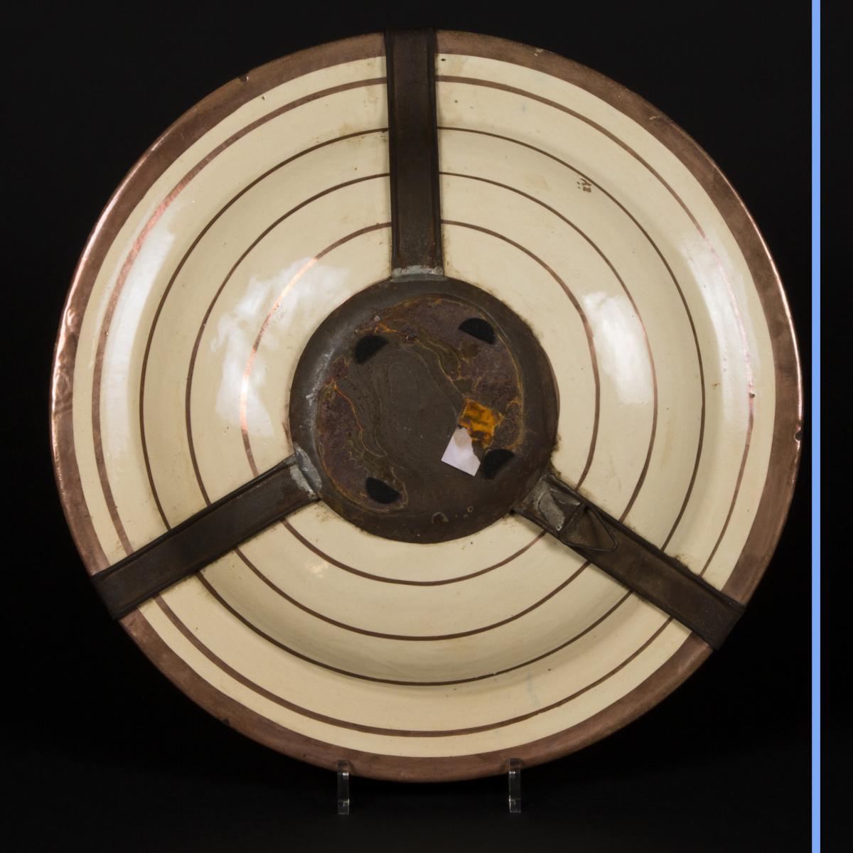 Plat en porcelaine, XIXe-photo-4